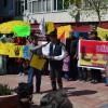 İMAM HATİP ÖĞRENCİLERİ İDAMLARI PROTESTO ETTİ
