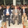 PROTOKOL  TEKERLEKLİ SANDALYEYE OTURDU