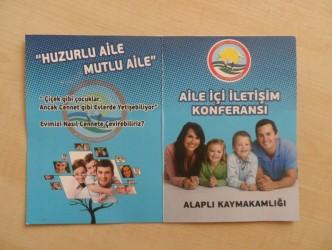 """""""AİLE İÇİ İLETİŞİM KONFERANSI"""" DÜZENLENECEK"""