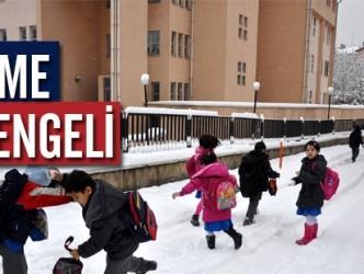 ALAPLI'DA OKULLAR YARIN DA TATİL EDİLDİ
