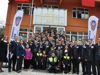 ALAPLI'DA 10 NİSAN POLİS GÜNÜ KUTLANDI
