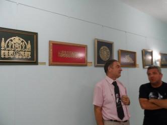 EMEKLİ ALBAY'DAN NAHT SERGİSİ