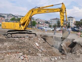 Terminal inşaatına başlandı