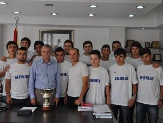 U-19 şampiyonu Alaplı Belediyespor'dan ziyaret