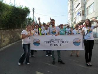 Turizm Elçileri Festivalde de çalışmalarını sürdürdü.