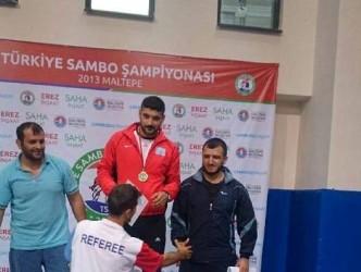 TÜRKİYE SAMBO ŞAMPİYONASINA KATILDILAR