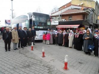 ZONGULDAK'TAN İLK UMRECİ GRUP YOLA ÇIKTI