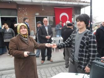 LİSE ÖĞRENCİSİ SURİYEDEKİ DRAMA SESSİZ KALMADI