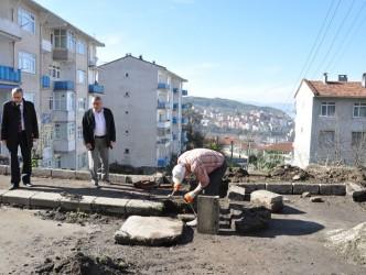 Başkan Çimenoğlu, çalışmaları inceledi
