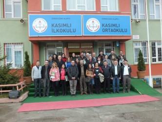 """KASIMLI'DA """"ÖĞRENEN LİDER ÖĞRETMEN SEMİNERİ""""YAPILDI"""