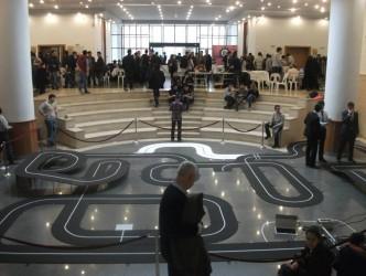 ATALAY ANADOLU  ODTÜ'de ROBOT YARIŞMASINA KATILDI