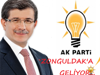 BAŞBAKAN DAVUTOĞLU ZONGULDAK'A GELİYOR