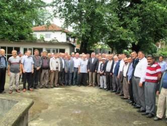 FARUK ÇATUROĞLU MOLLABEY'İ ZİYARET ETTİ
