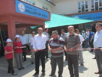 MOLLABEY ORTAOKULUNDA 35 PROJE SERGİLENDİ