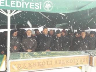 KAZADA ÖLENLER DEFİN EDİLDİ