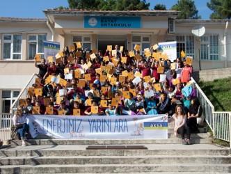 """Aksa """"ENERJİMİZ YARINLARA"""" projesi Zonguldak'taki öğrencilerle buluştu"""