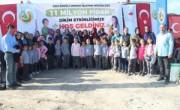 EREĞLİ'DE 37 BİN FİDAN DİKİLDİ